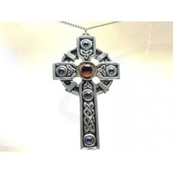 Croix  talisman et pentacle