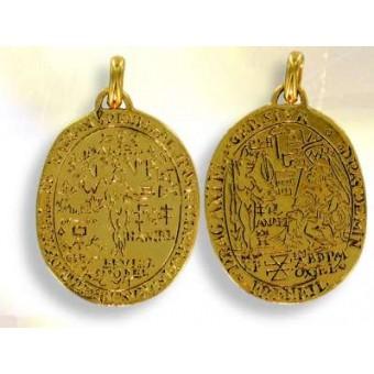 Vermeil love amulet