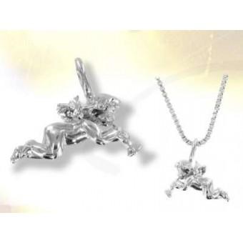 Silver divine angel