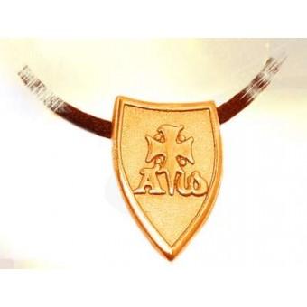 Vermeil Templar coat of arms