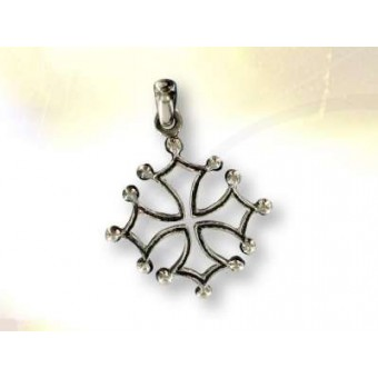 Silver LANGUEDOC cross