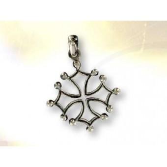 Cruz del Languedoc plata