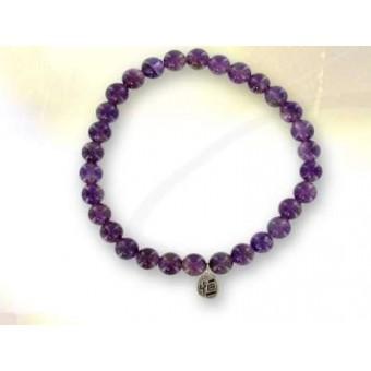 Bracelet perles AMETHYSTE