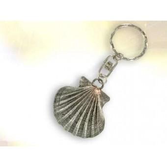 Porte clef coquille compostelle bijoux esot riques for Portent une coquille