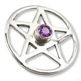 PENTAGRAMA MAGICO talisman plata