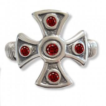 Bague Croix des Templiers