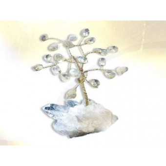 Rock Crystal Tree of Life