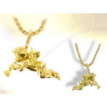 Ángel divino oro