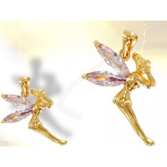 Gold plated fairy