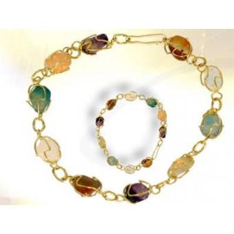 Gilded cage bracelet
