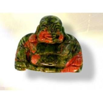 Bouddha  jaspe unakite