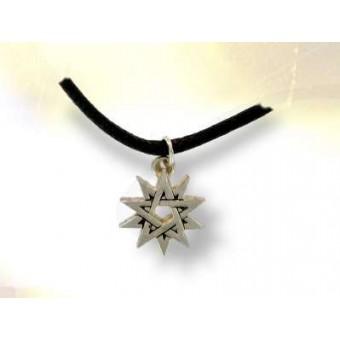 DOUBLE PENTAGRAM silver talisman