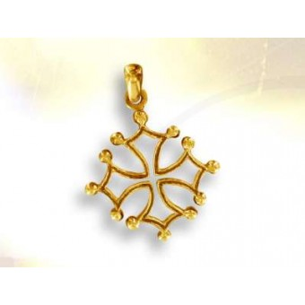 Gold LANGUEDOC cross