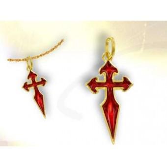Santiago de Compostela gold cross
