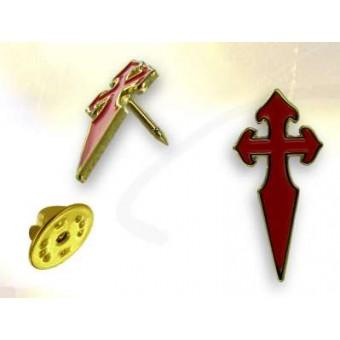 Santiago de Compostela lapel pin