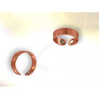 Sortija cobre magnético