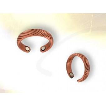 Sortija cobre magnetica